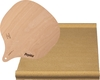 Ilve  A41800 Pizza Stone Brown, A41800 Pizza Stone Combo