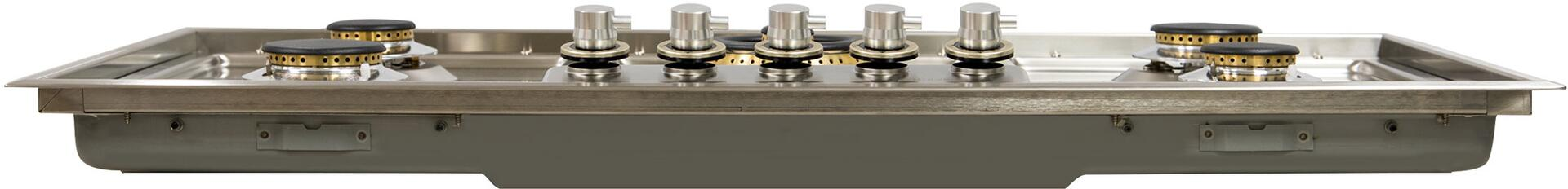 Ilve  UHP95CI Gas Cooktop Stainless Steel, Front View