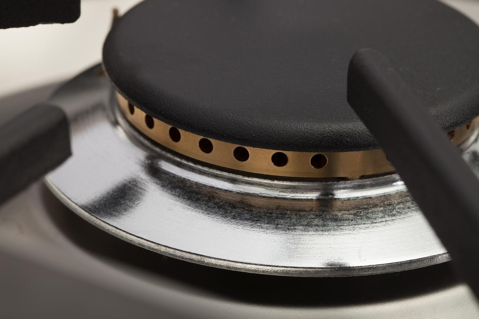 Ilve Professional Plus UPW90FDMPM Freestanding Dual Fuel Range Graphite, 4