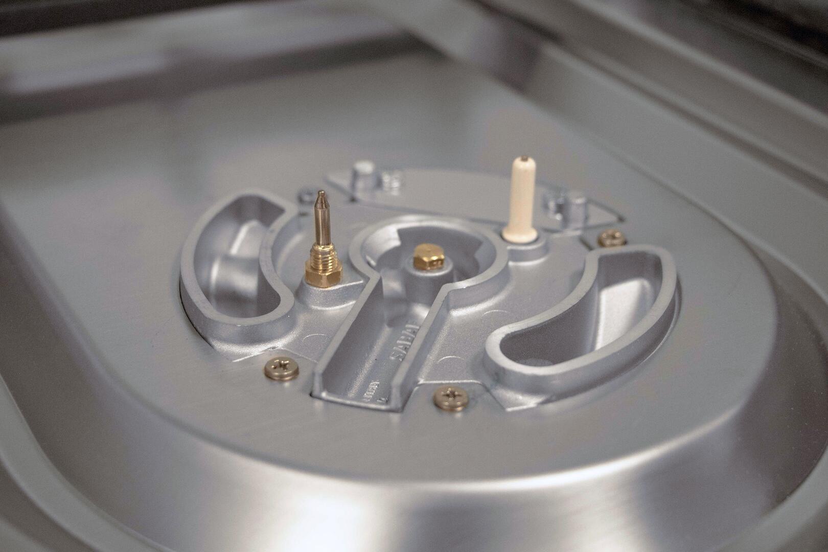 Ilve Majestic II UM12FDQNS3SSPLP Freestanding Dual Fuel Range Stainless Steel, UM12FDQ-Burner-TH