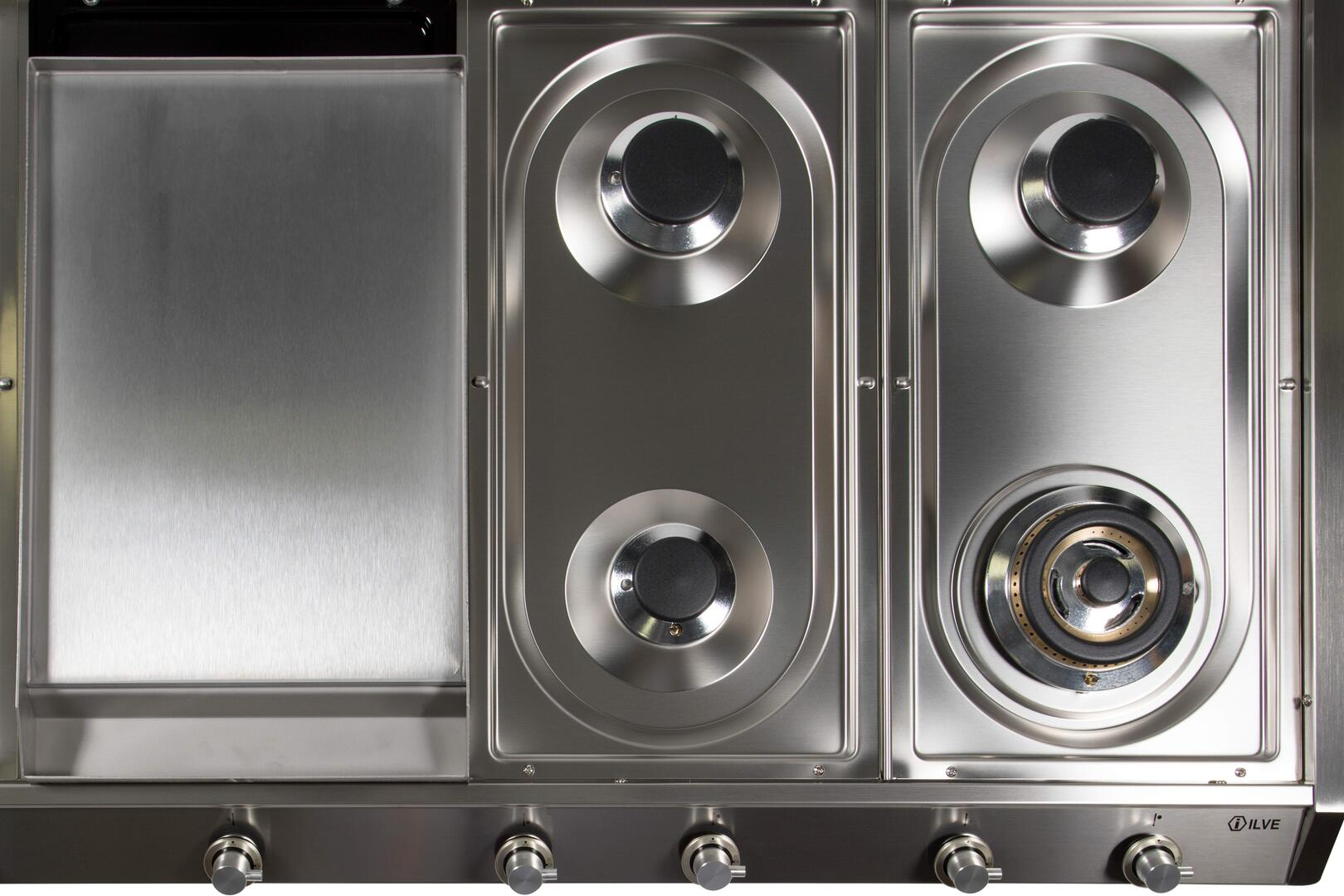 Ilve  UHP1265FDILP Gas Cooktop Stainless Steel, UHP1265FDI Details
