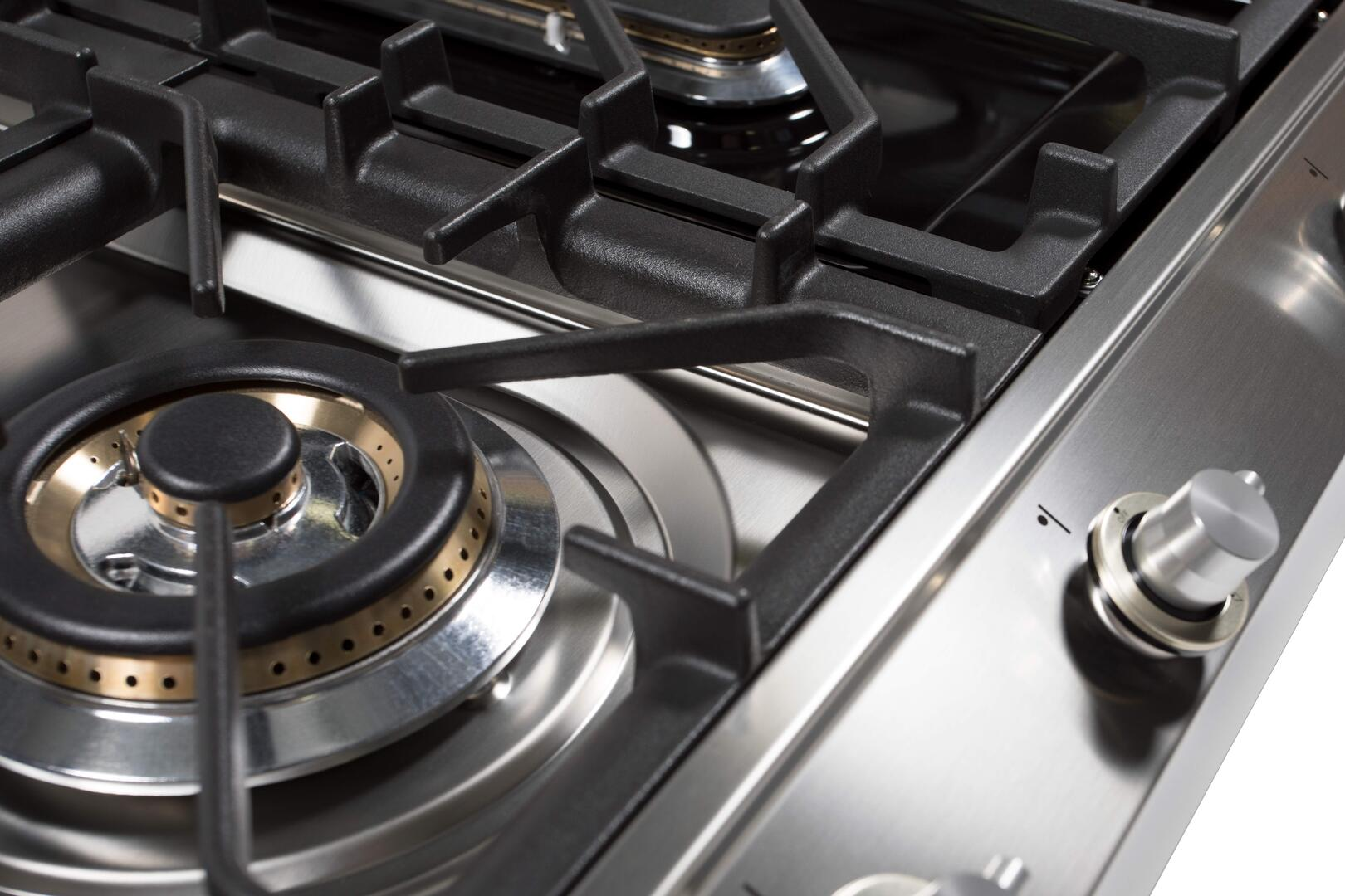 Ilve  UHP1265FDI Gas Cooktop Stainless Steel, UHP1265FDI Details