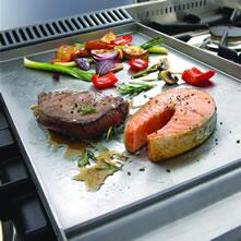 Ilve  UHP125FCI Gas Cooktop Stainless Steel, Stainless Steel Griddle
