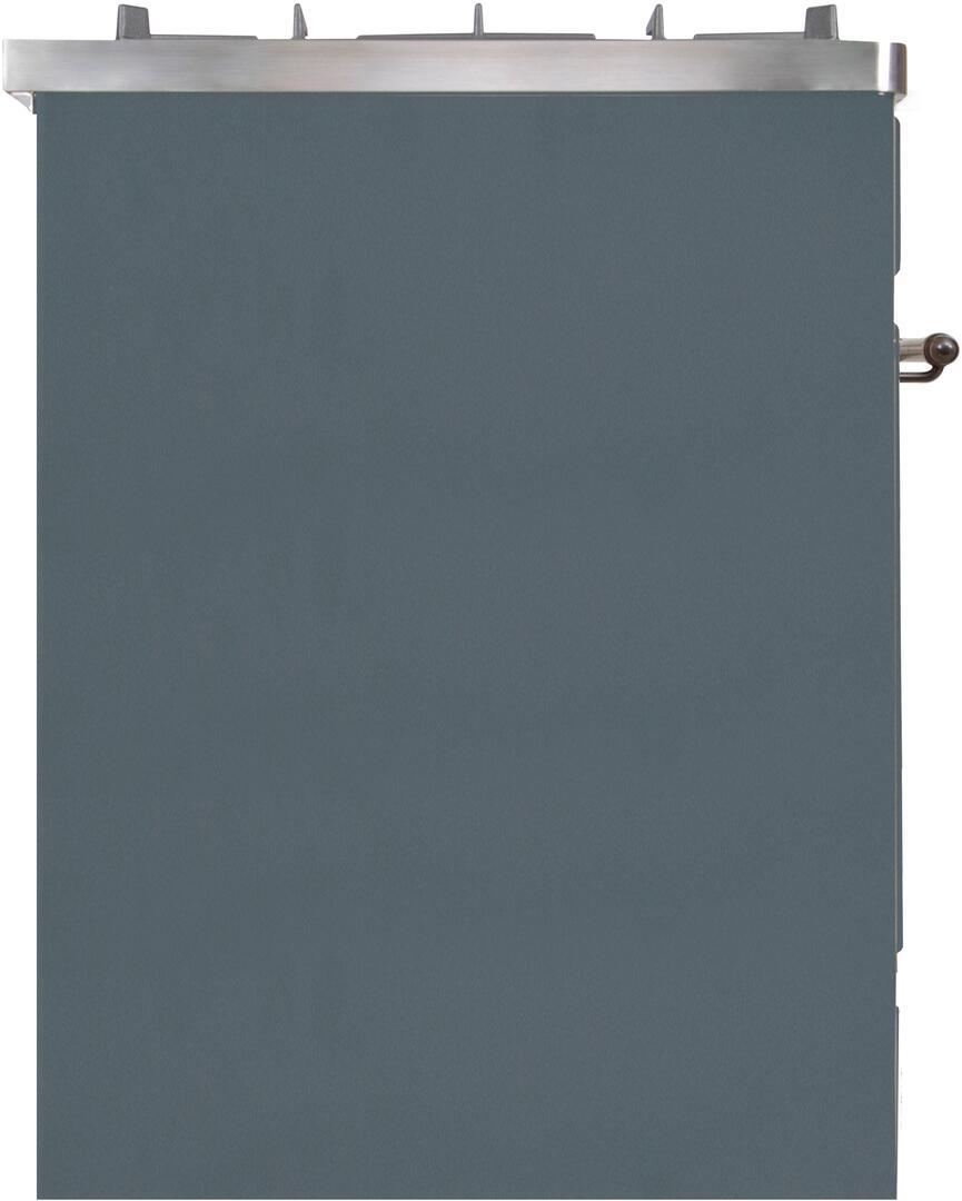 Ilve Majestic II UM30DNE3BGB Freestanding Dual Fuel Range , UM30DNE3GUB-Left-CD