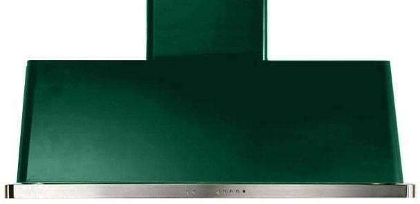Ilve Majestic UAM120VS Wall Mount Range Hood Green, Emerald Green