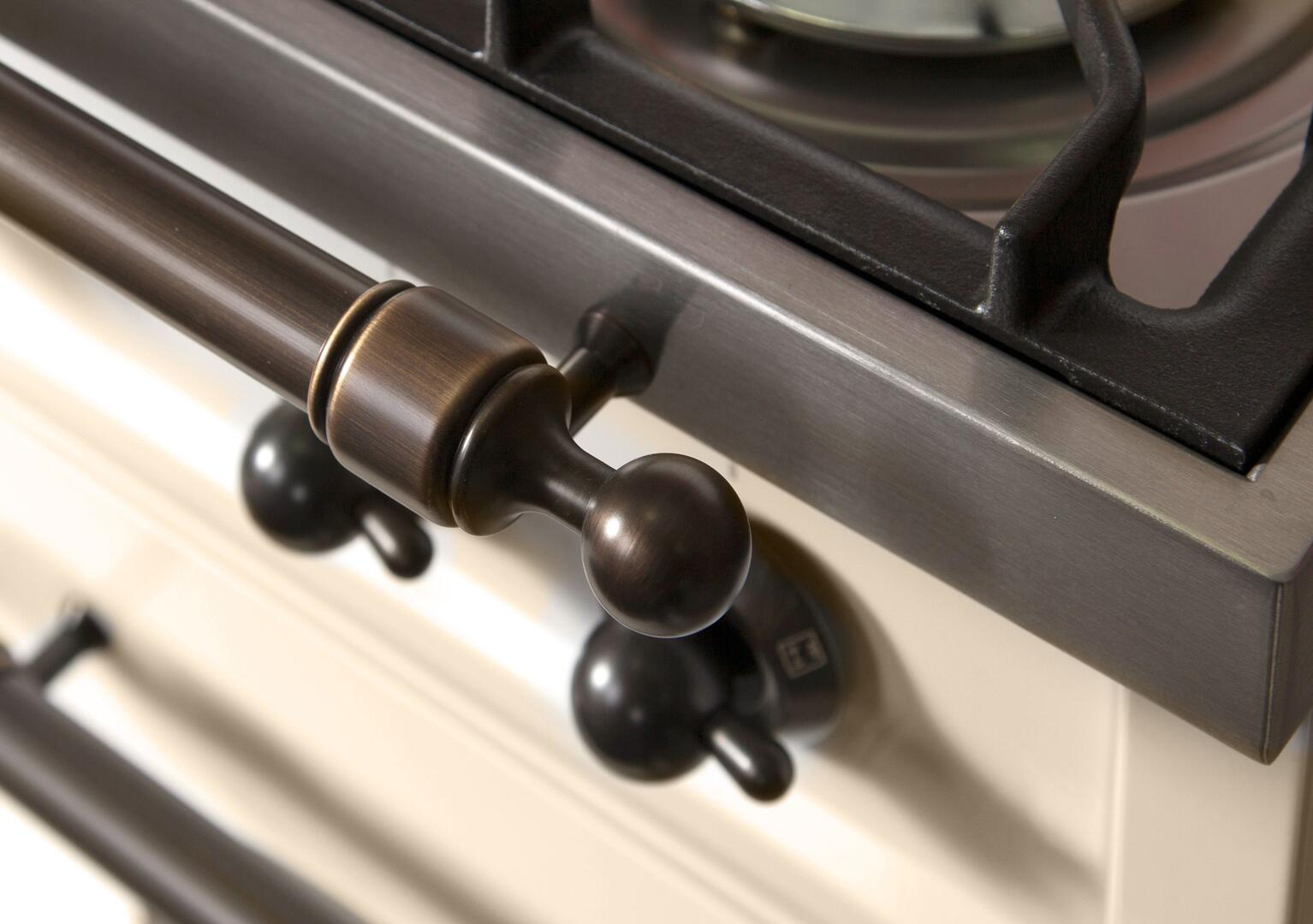 Ilve Nostalgie UPN120FDMPAY Freestanding Dual Fuel Range Bisque, ilve UPN120FDMPAY range lifestyle