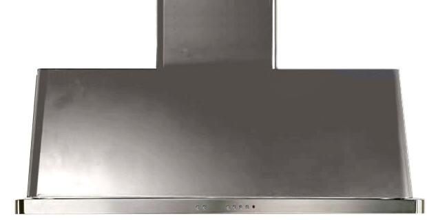 Ilve Majestic UAM120I Wall Mount Range Hood Stainless Steel, Stainless Steel