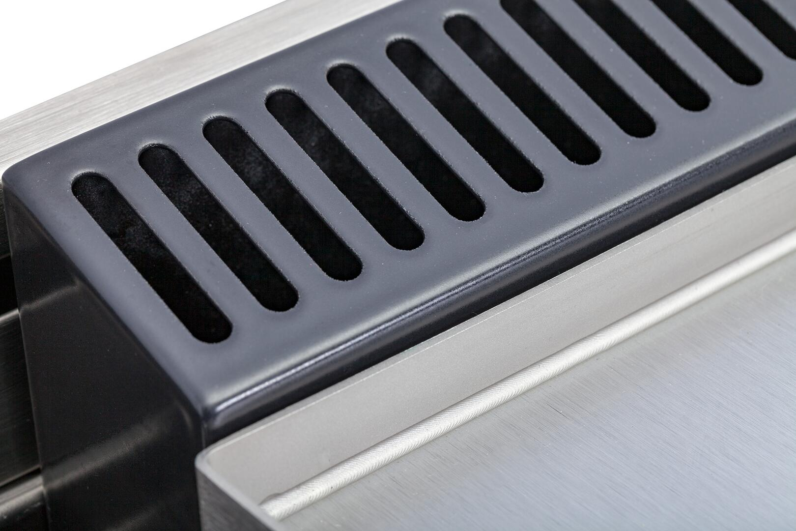 Ilve Professional Plus UPW150FDMPGU Freestanding Dual Fuel Range Blue Grey, 14