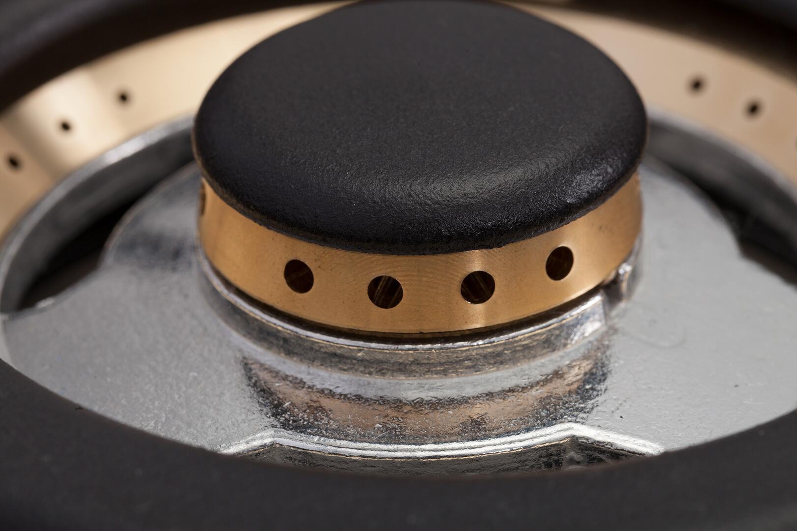 Ilve Nostalgie UPN60DMPN Freestanding Dual Fuel Range Black, 17