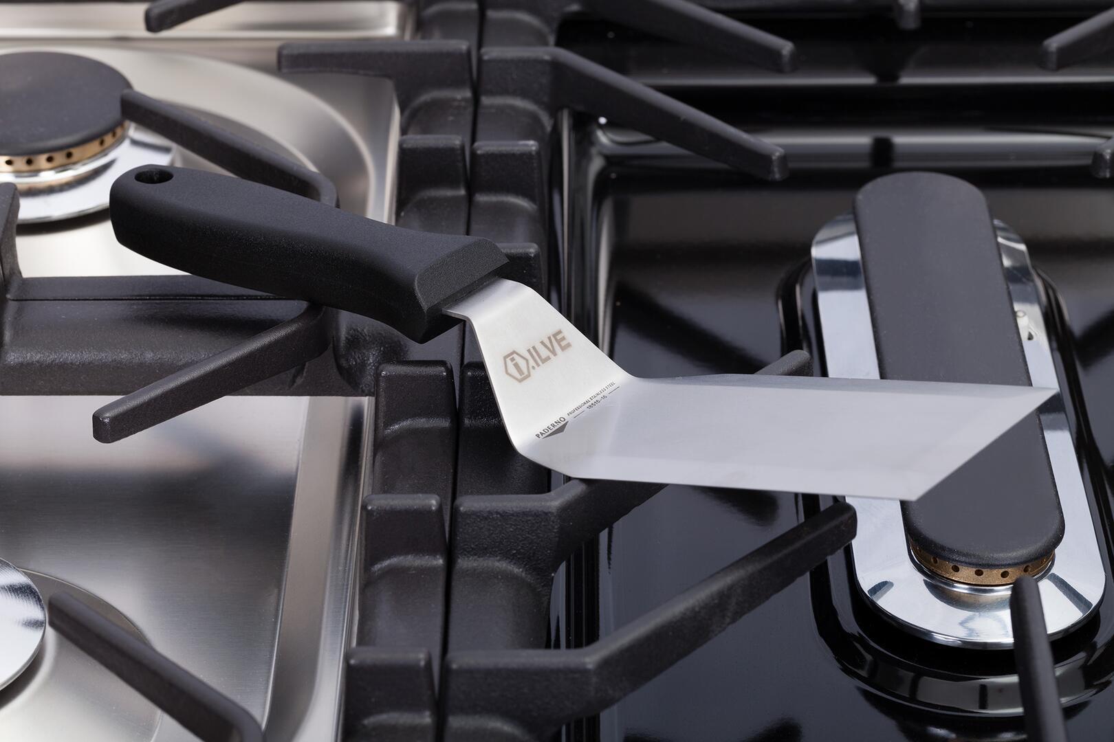 Ilve Nostalgie UPDN100FDMPVSLP Freestanding Dual Fuel Range Green, 32