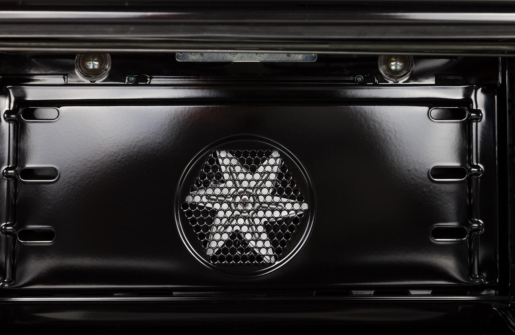 Ilve Nostalgie UPDN100FDMPNLP Freestanding Dual Fuel Range Black, 27