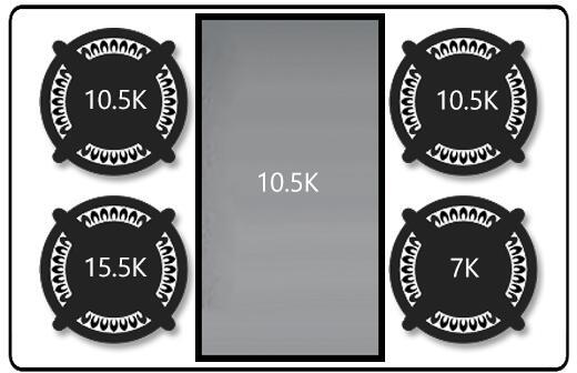 Ilve Nostalgie UPDN100FDMPNLP Freestanding Dual Fuel Range Black, Burner Configuration