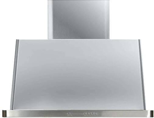 Ilve Majestic UAM90I Wall Mount Range Hood Stainless Steel, Stainless Steel