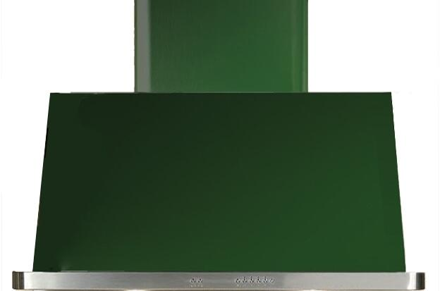 Ilve Majestic UAM90VS Wall Mount Range Hood Green, Emerald Green