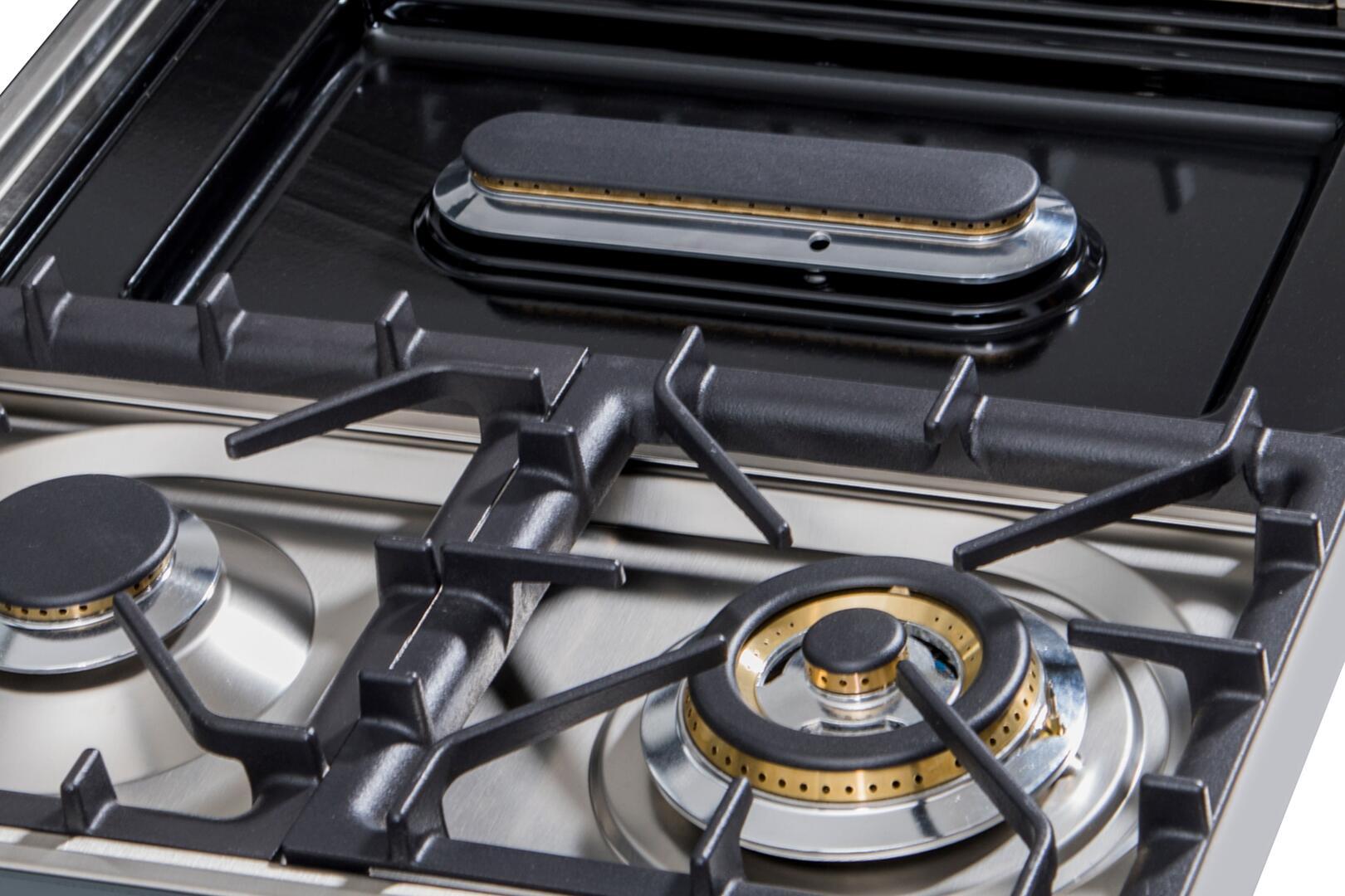 Ilve  UXLP90FI Gas Cooktop Stainless Steel, UXLP90FI Lifestyle