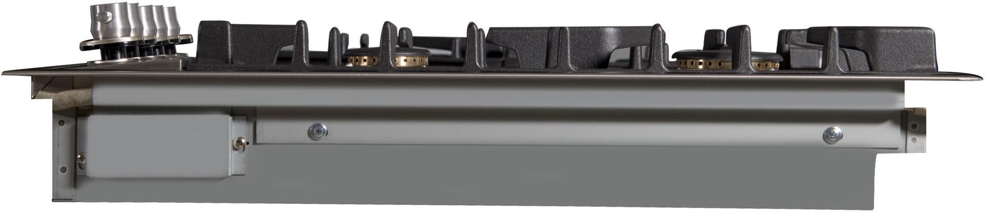 Ilve  UXLP90FI Gas Cooktop Stainless Steel, UXLP90FI Right VIew