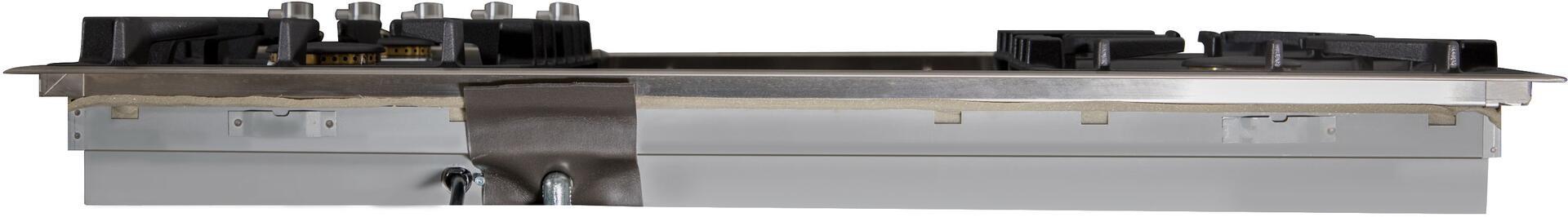 Ilve  UXLP90FI Gas Cooktop Stainless Steel, UXLP90FI Back View