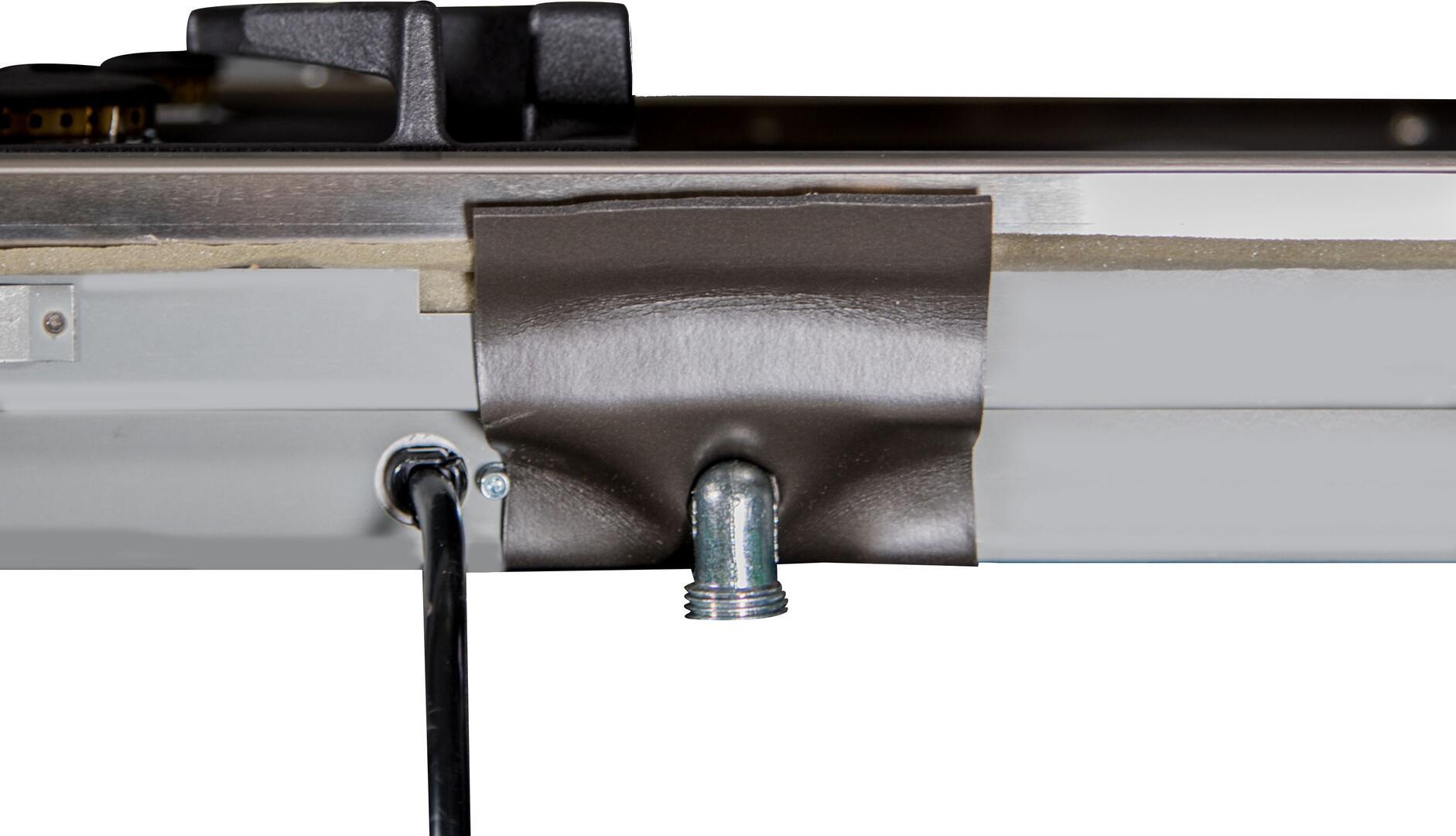 Ilve  UXLP90FI Gas Cooktop Stainless Steel, UXLP90FI Gas Connector