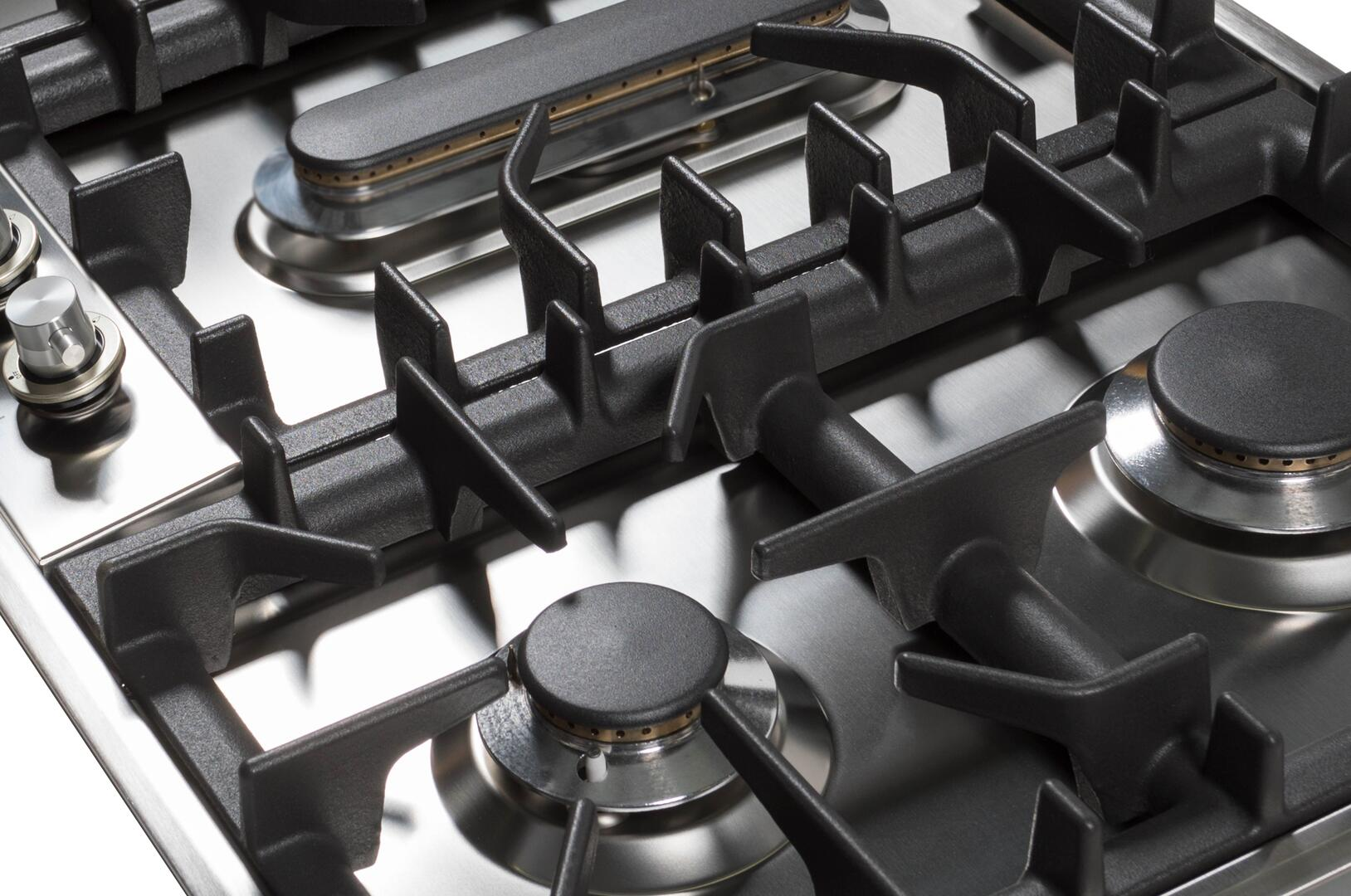 Ilve  UHP125FCILP Gas Cooktop Stainless Steel, 5