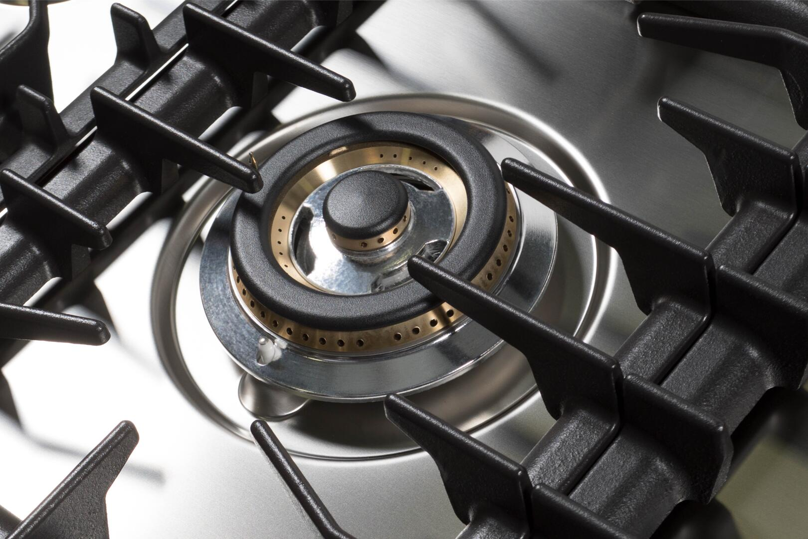Ilve  UHP125FCILP Gas Cooktop Stainless Steel, 6