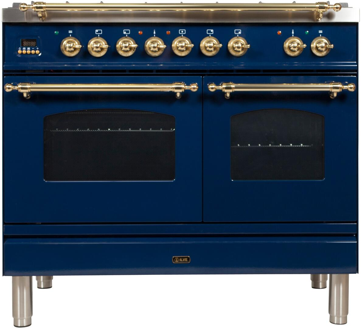 40 Inch Blue Dual Fuel Convection Freestanding Range