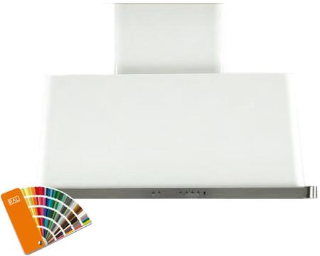 Ilve Majestic UAM100RAL Wall Mount Range Hood Custom Color, Custom RAL Color Option, Customer Must Supply RAL Code
