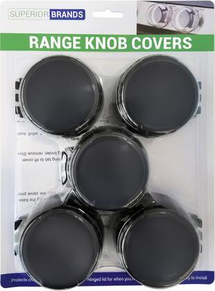 Superior Brands  SAFETYKNOBS5BLACK Other Range Accessories , 1