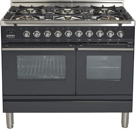 Ilve Professional Plus UPDW1006DMPMLP Freestanding Dual Fuel Range , UPDW1006DMPM Dual Oven Range