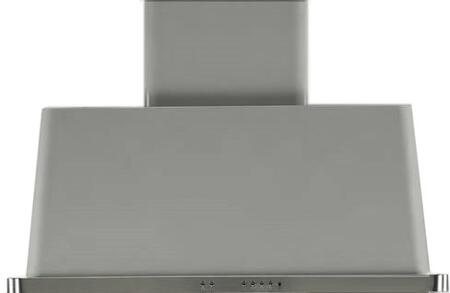 """UAM100I 40"""" Wall Mount Range Hood with 600 CFM Blower, Anti-grease Filter, 2 Warming Lights, Filter Light Indicator, Auto-off Function, and 4 Fan Speeds: Stainless Steel"""