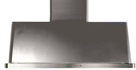 Ilve Majestic UAM120I Wall Mount Range Hood Stainless Steel, Stainless Steel