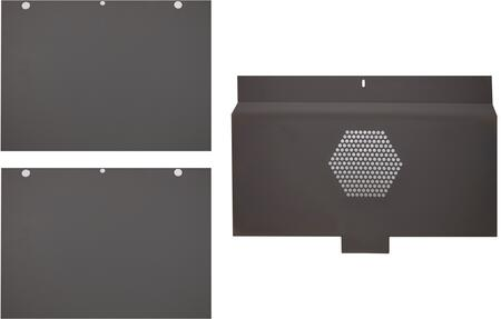 Ilve  G17018 Self Clean Panels Black, ILVE Stay Clean Liner
