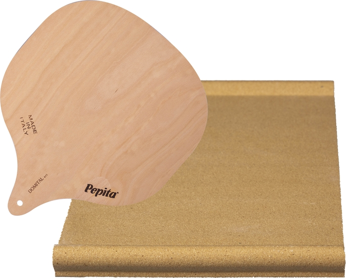 Ilve  A41804 Pizza Stone Brown, A41804 Pizza Stone Combo