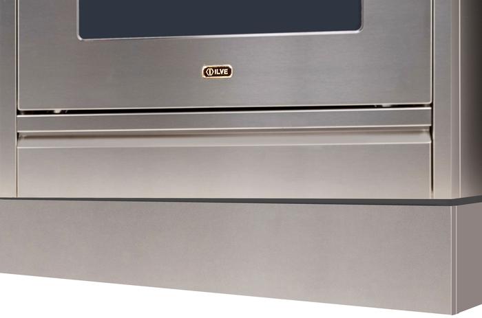 Ilve  AMZ150 Toe Kick Stainless Steel, 1