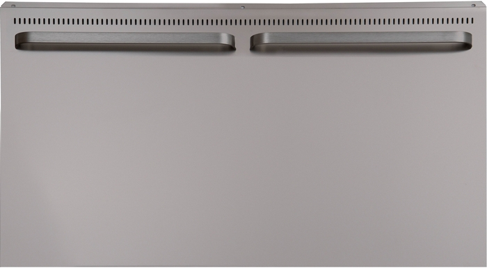 Ilve  AM4120 Back Guard Stainless Steel, Front View