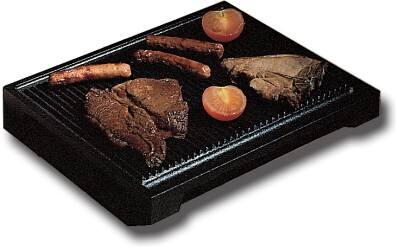 A/006/04 Small Ribbed Cast Iron Steak Grill Pan