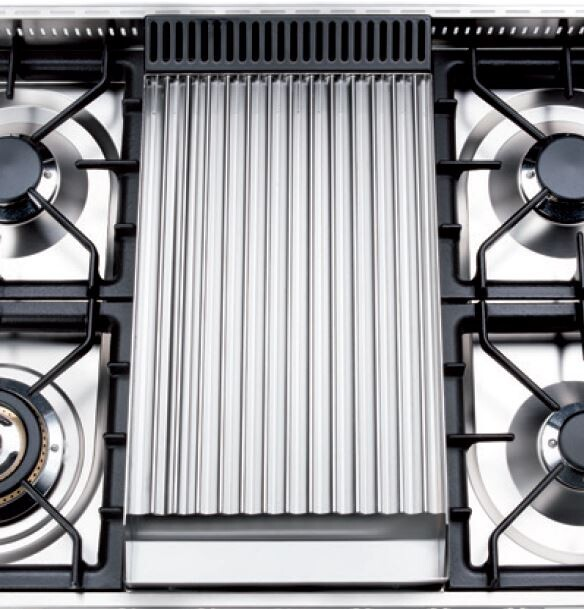 """G/419/03 12"""" Stainless Steel BBQ Grill with Kit (Nostalgie and Professional Plus Only)"""