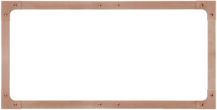 "KCND90P Copper Frames for 36"" Dual Oven Doors"