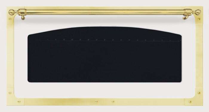 """KCN120G Brass Frame for 48"""" Range Oven Door"""